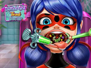 play Dotted Girl Throat Doctor