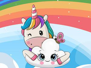 Cute Unicorn Jigsaw game