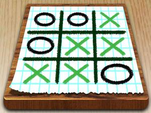 Tic Tac Toe Paper Note game