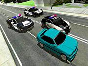 Mad Cop Police Car Race: Police Car Vs Gangster Escape game