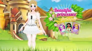 play Beautiful Princess Find A Pair