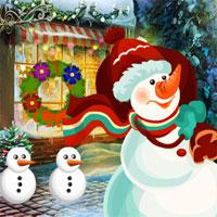 play Games4King-Christmas-Snowman-Rescue