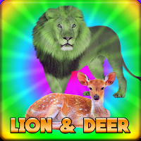 play G2J Lion And Deer Escape