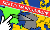 play Scatty Maps: Europe