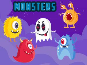 play Electrical Monsters Match 3