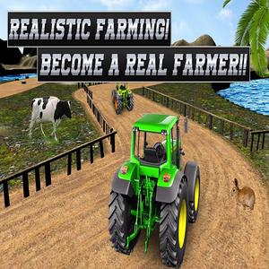 play Real Tractor Farming Simulator : Heavy Duty Tractor