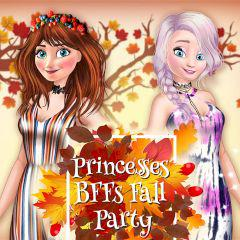 play Princesses Bffs Fall Party