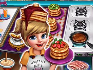 play Cooking Fast 3 Ribs And Pancakes