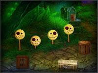 play Amgel Green Witch Escape