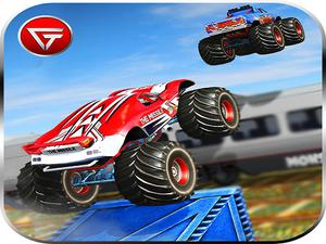 play Monster Truck Impossible Track : Monster Truck Stunts