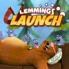 Grizzy & The Lemmings Lemmings Launch game