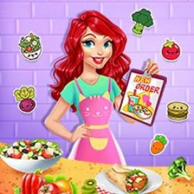 play Vegetarian Food Delivery - Free Game At Playpink.Com