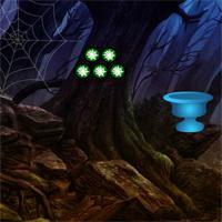 Creepy Spider Forest Escape game
