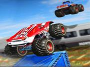 Monster Truck Impossible Track Monster Truck Stunts game