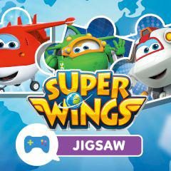 Super Wings Jigsaw game