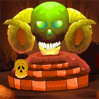 play Mirchigames-Fantasy-Skull-Forest