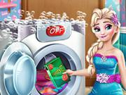 Ice Queen Laundry Day game