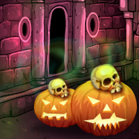 play G4E Halloween Nightware Door Escape