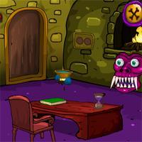 play Games4Escape Halloween Cave Door Escape