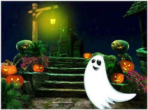 play Green-Halloween-Ghost-Escape