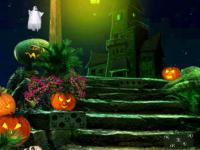 play Green Halloween Ghost Escape