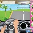 play Barbie Driving Slacking
