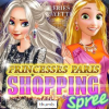 Princesses Paris Shopping Spree game