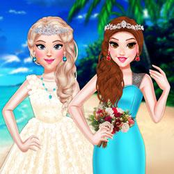 Princess Girls Wedding Trip game