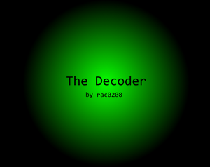 play The Decoder