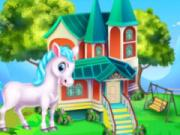 play Pony House Cleaning And Decoration