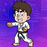 play Karate Black Belt Winner Escape
