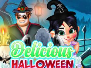 play Delicious Halloween Cupcake