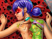 play Dotted Girl Back Treatment