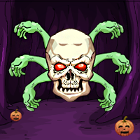 play G4E Halloween Pumpkin Door Escape