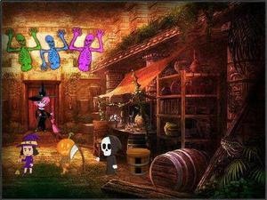 play Amgel Halloween Escape