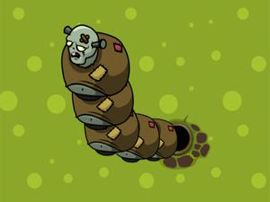 play Zombie Worms