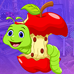 play Worm Escape From Apple