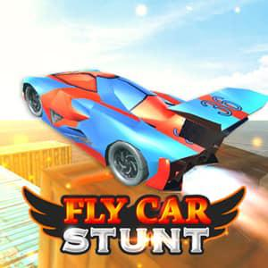 Fly Car Stunt game