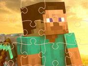play Minecraft Puzzle Time