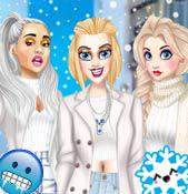 Winter White Outfits game