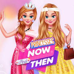 Princesses Now And Then game
