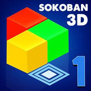 Sokoban 3D game