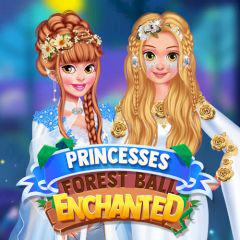 Princesses Enchanted Forest Ball game