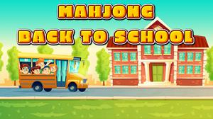 Mahjong Back To School game