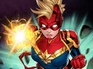 play Captain Marvel: Galactic Flight