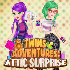 Twins Adventures: Attic Surprise game