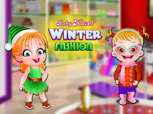 Baby Hazel Winter Fashion game
