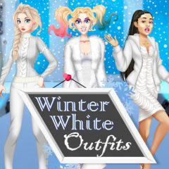 play Winter White Outfits