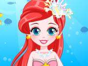 Little Mermaid Prom Dress game