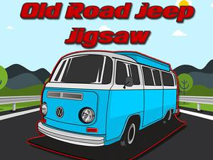 Old Road Jeep Jigsaw game